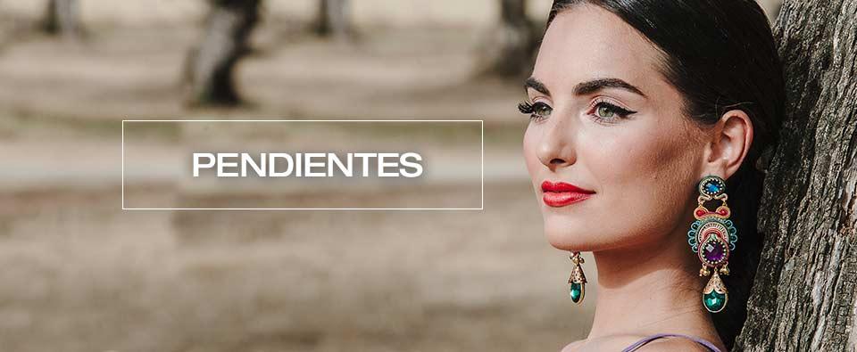 Pendientes Flamenca Acetato