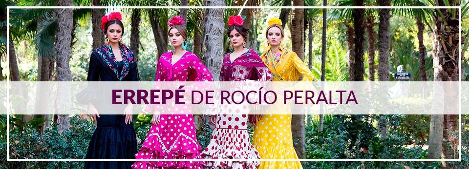 Trajes de Flamenca Colección Errepé de Rocío Peralta