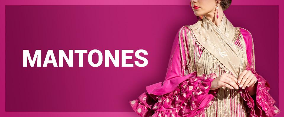 consejos para colocar el manton de flamenca