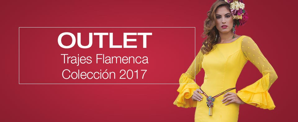Outlet Trajes Flamenca Colección 2017