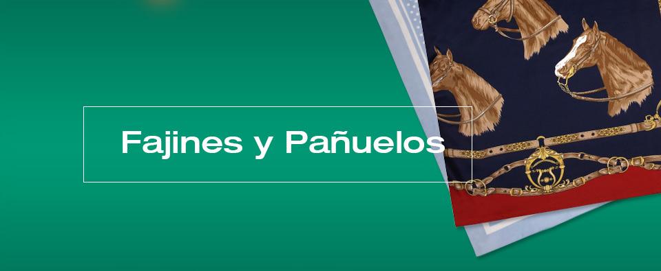 Fajines y pañuelos flamencos