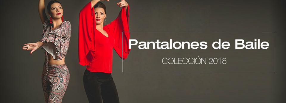 Pantalones de baile flamenco