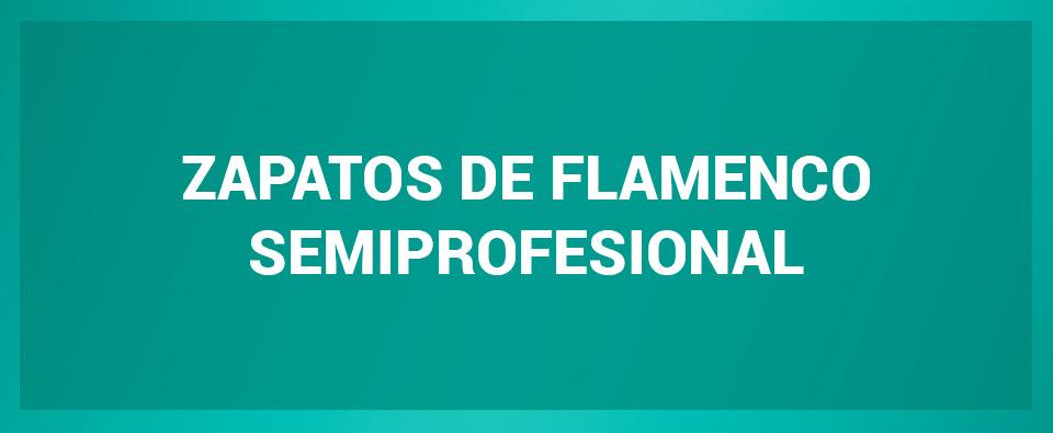 Zapato de flamenco semiprofesional
