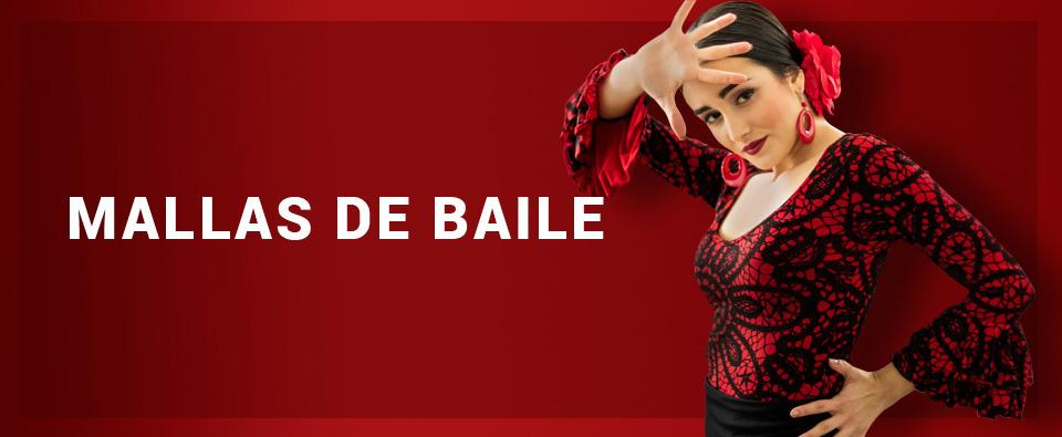 Mallas de baile flamenco