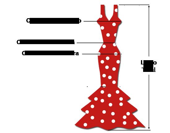 Tallas Mallas de Baile Flamenco