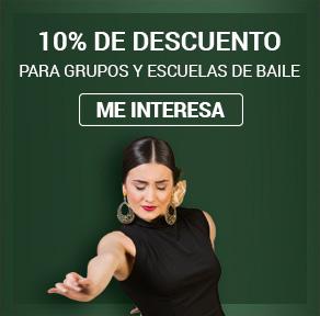 Descuentos en Ropa de Baile Flamenco