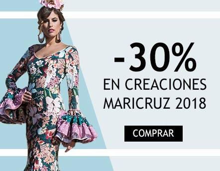 Descuento de 30% en colección Maricruz 2018
