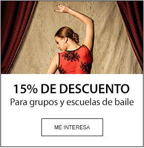 Descuentos en Baile Flamenco