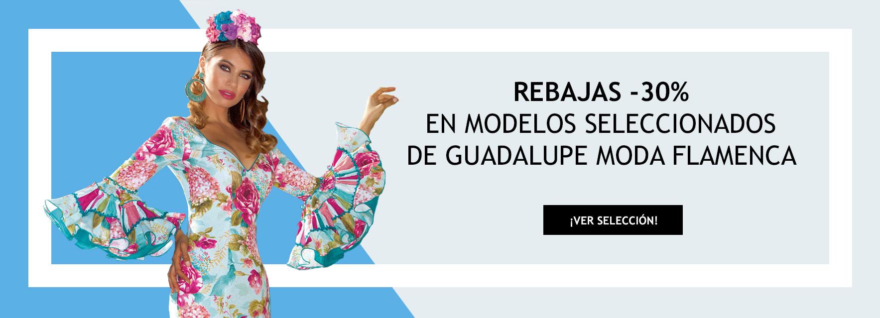 Descuentos del 30% en colección Guadalupe