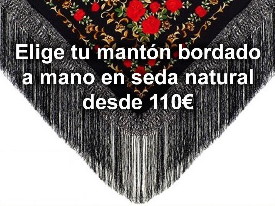 mantones flamencos