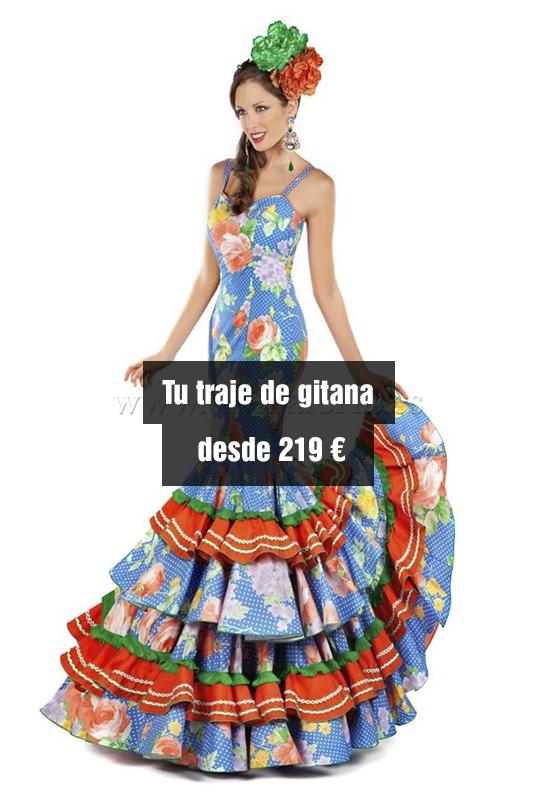Vestidos gitana baratos