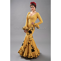 Traje de flamenca modelo Lebrija de Son MM