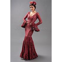 Traje de flamenca modelo Tomares teja de Son MM