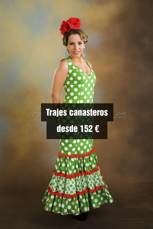 Vestidos canasteros baratos