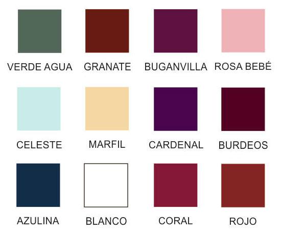 Colores accesorios de acetato